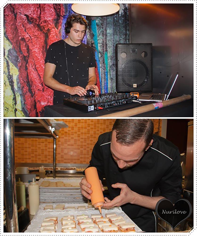 DJ y Cocinero (buena combinación)