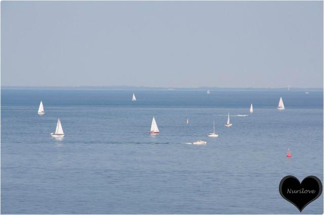 Vistas desde la salida de puerto