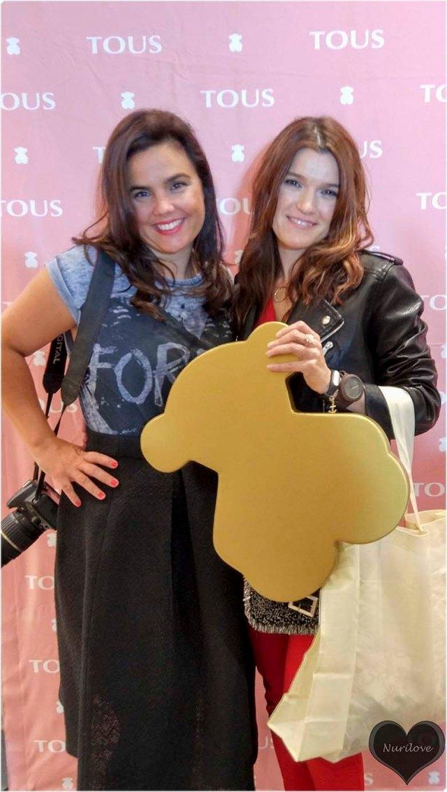 Vanessa y yo en Tous
