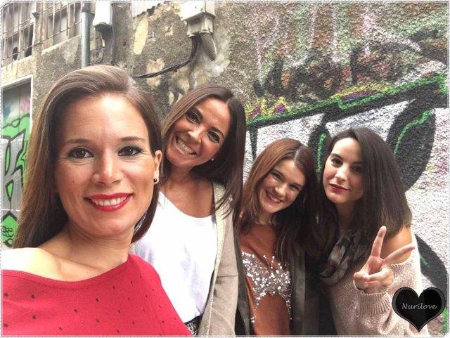 Con Eunate, Ainhize y Tamara