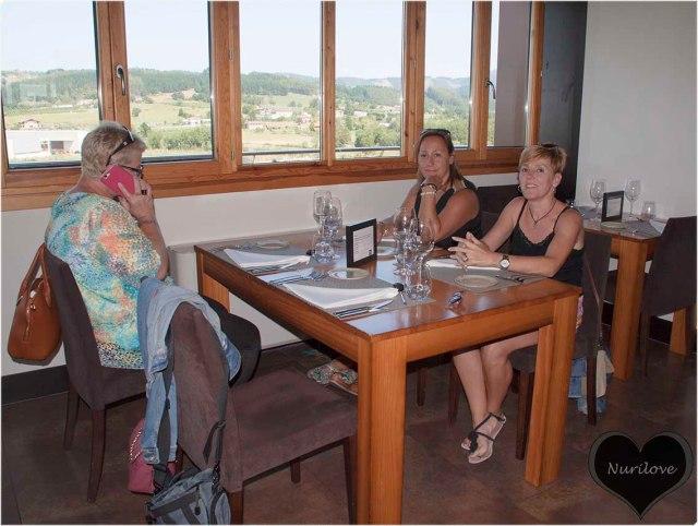 Rufi, Lidia y Begoña