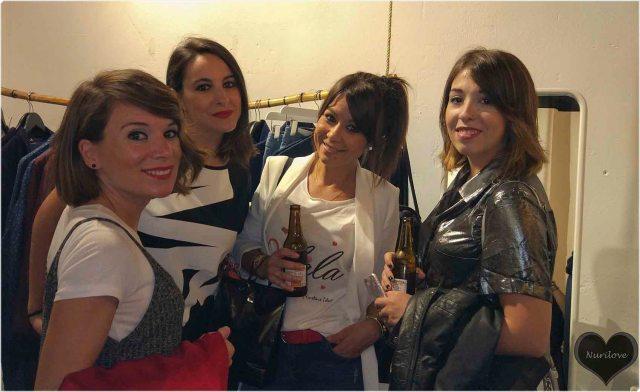 Eunate, Tamara, Eli y Bidane