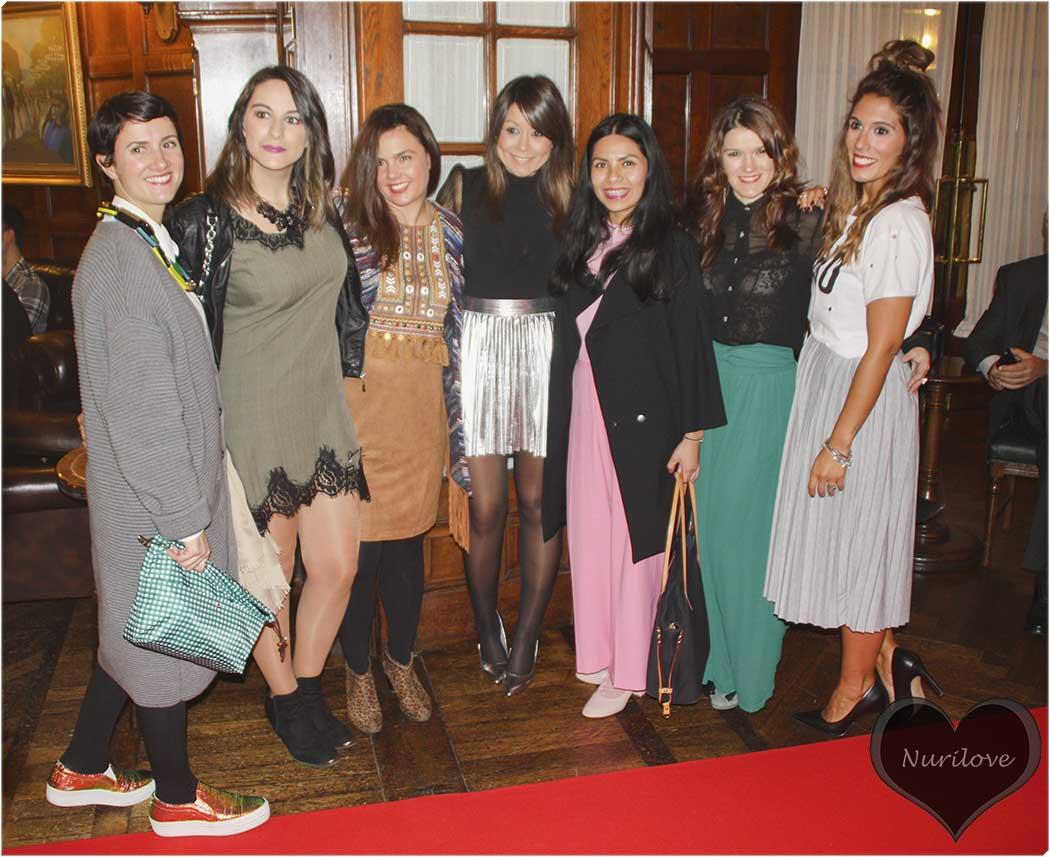 Nora, Tamara, Vanessa, Eli, Ana, Lorena y yo