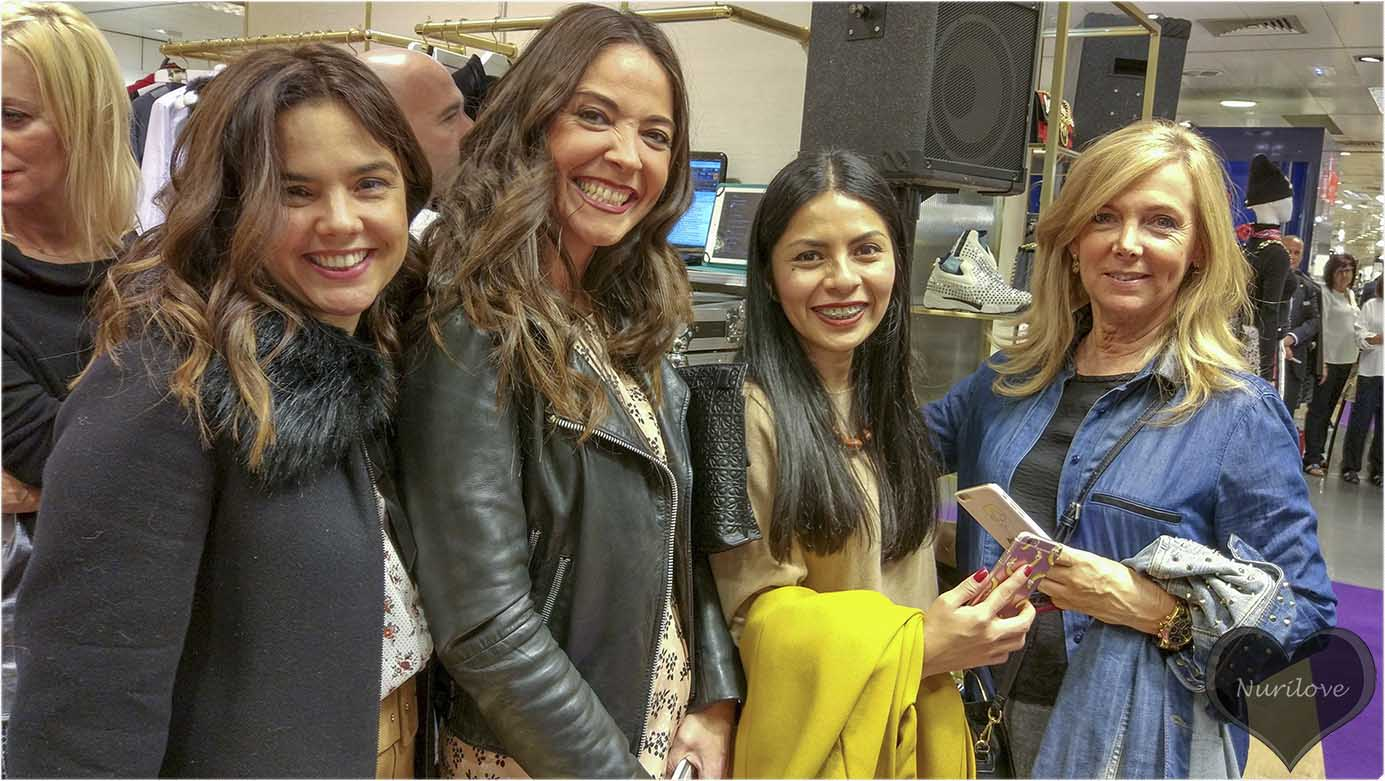 Vanessa, Ainhize, Ana y Leonor