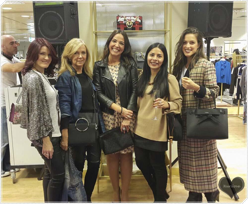 Leonor, Ainhize, Ana, Ingrid y yo