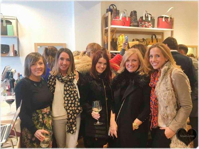 Con Iratxe, Leire, Leonor y Amaia