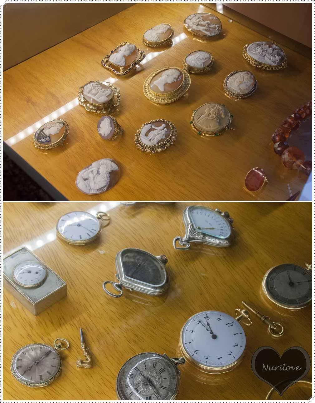 Camafeos y relojes
