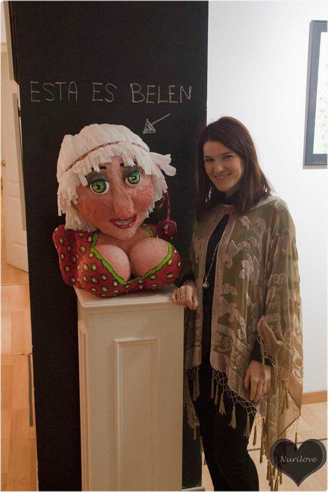 Y yo me hice amiga de Belén